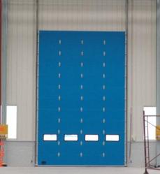 厂房工业门安装