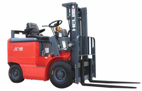 1-1.5吨窄车身蓄电池叉车