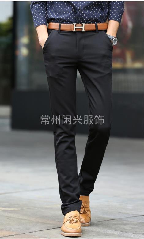 常州男士长裤加工