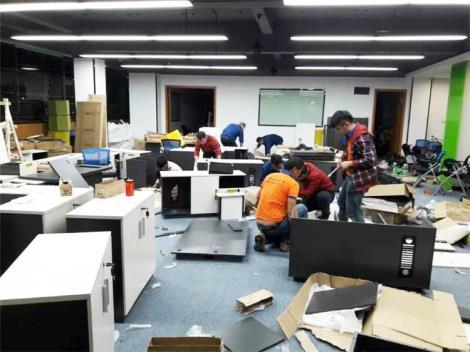 办公桌拆装方案
