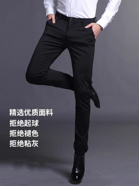 男士商务休闲裤生产