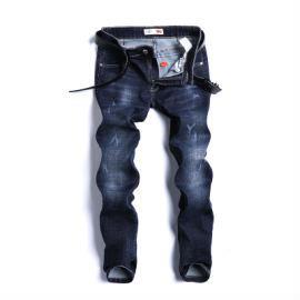 男士时尚牛仔裤定制