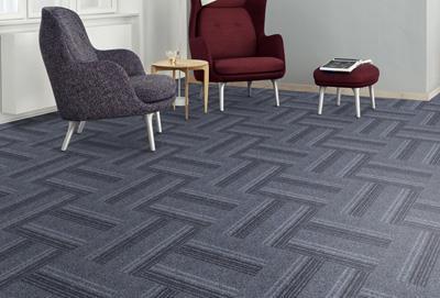 绽放印花方块拼接地毯供货商