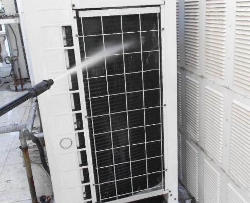 家用中央空调清洗