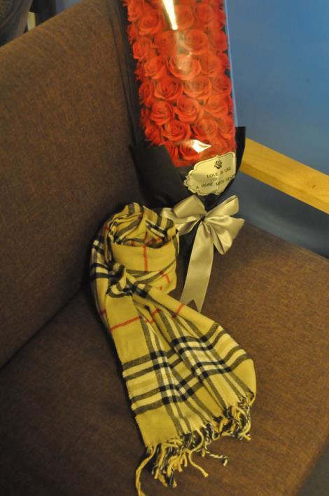 仿羊绒围巾保暖定制
