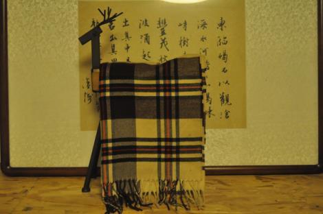 双面仿羊绒围巾