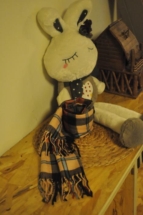 小格子仿羊绒围巾哪家好