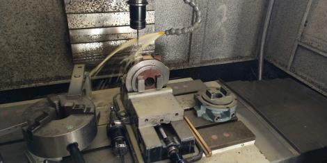 油泵支撑体工艺