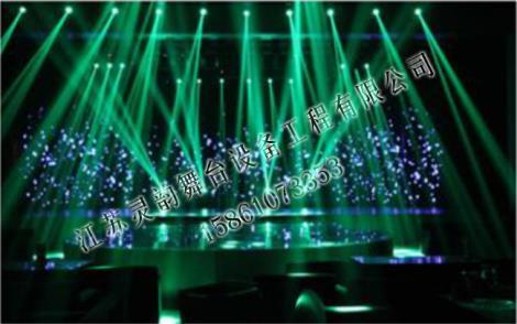 舞台灯光配置