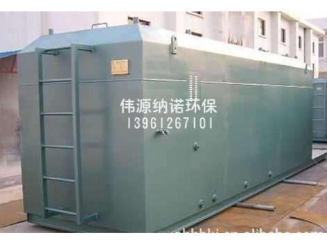 常州地埋式污水处理设备定制