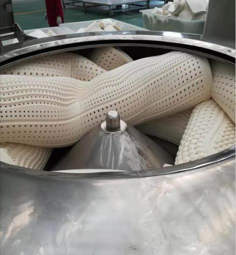 禹创机械-江泰牌-大型乳胶垫脱水机-...